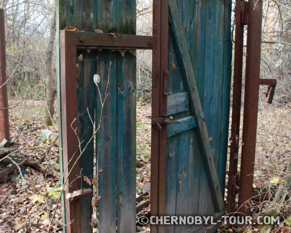 Ворота в с. Залесье