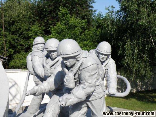 Мемориал ликвидаторам в г. Чернобыль