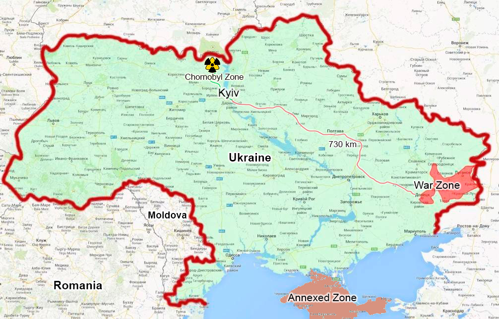 Current situation in Ukraine » CHORNOBYL TOUR 2018 - trips