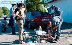 Рыбак в Чернобыле - конфискация улова и транспортного средства